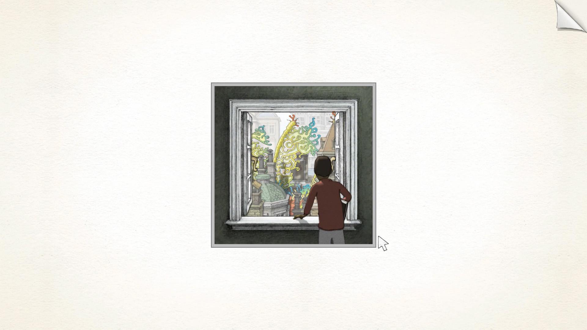 The Virtual Frame | Gorogoa | Heterotopias
