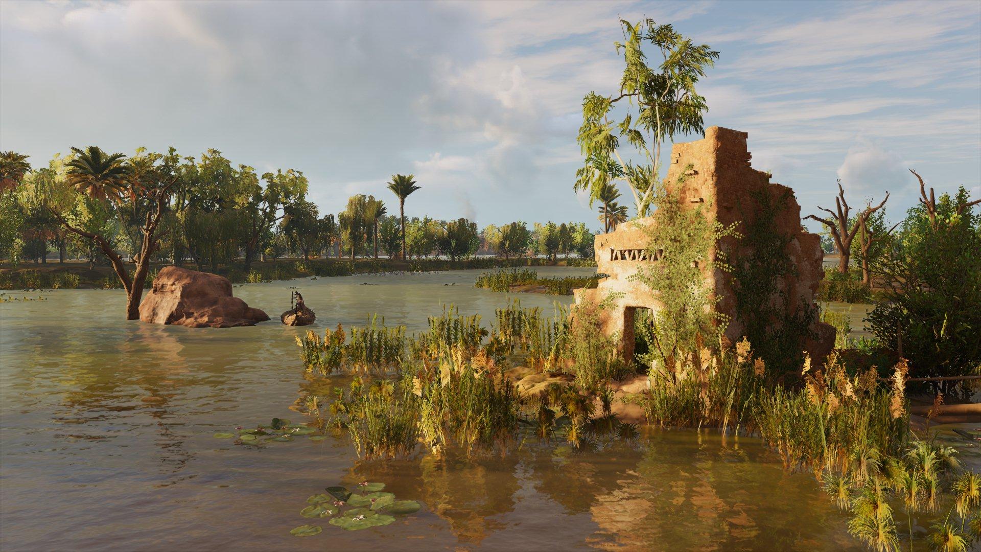 Nature S Grasp Assassin S Creed Origins Heterotopias